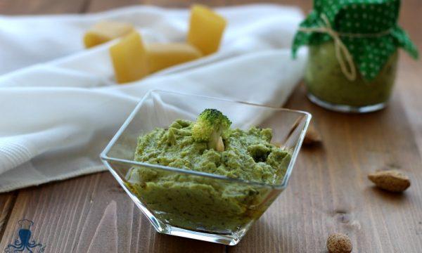 Pesto con i  broccoli, ricetta base vegetariana facile e sfiziosa