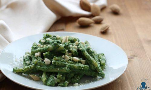 Caserecce alla crema di spinaci, ricetta delle feste