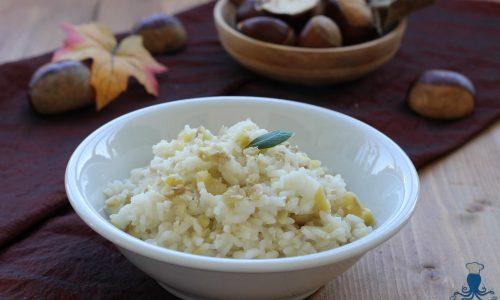 Risotto alle castagne, ricetta facile dal sapore autunnale