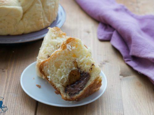 Pan brioche con cuore alla nutella, ricetta con il Versilia