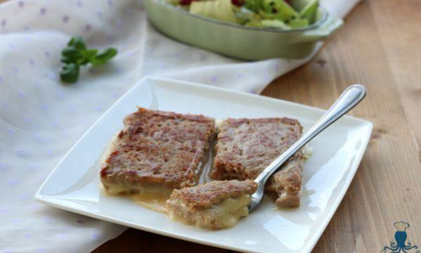 Tramezzini filanti di carne , ricetta facile e sfiziosa