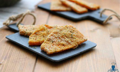 Cotoletta di zucca al forno, ricetta vegetariana facile e veloce