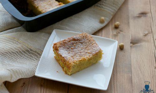Plumcake di ricotta e nocciole, ricetta piemontese facile