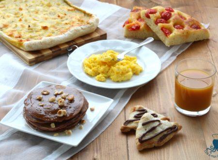 Ricette brunch, tante ricette per una colazione-pranzo golosissima