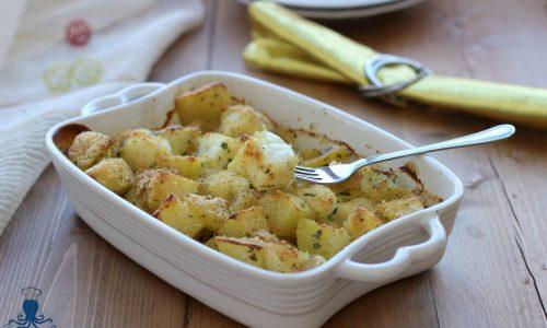 Merluzzo al forno con le patate, ricetta facile delle feste