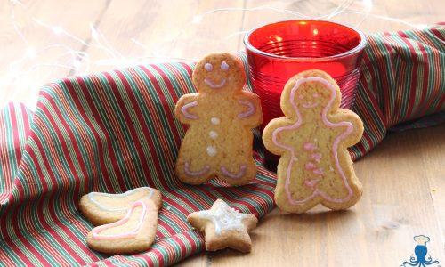 Biscotti di Pan di zenzero, ricetta natalizia facile e veloce