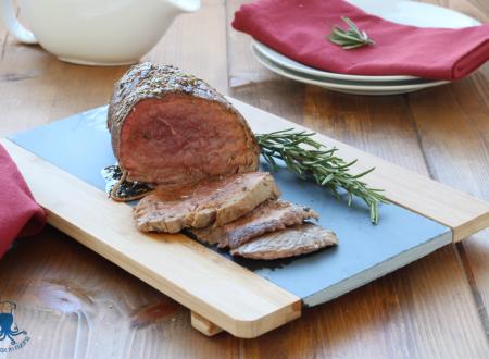 Roast beef agli aromi, ricetta secondo piatto raffinato