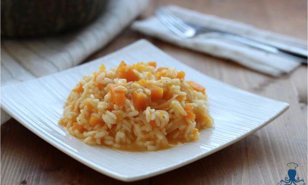 Risotto alla zucca, primo piatto classico della cucina italiana