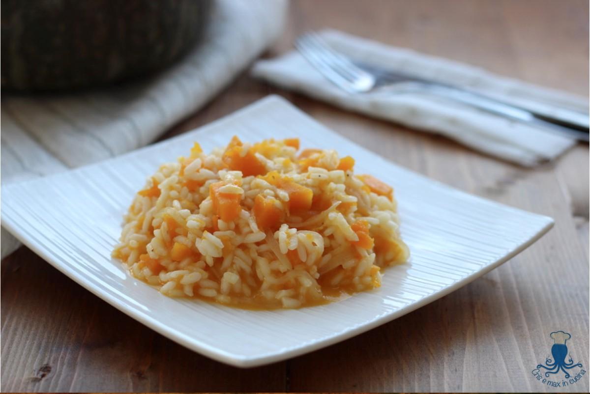 Risotto alla zucca primo piatto classico della cucina for Piatto della cucina povera