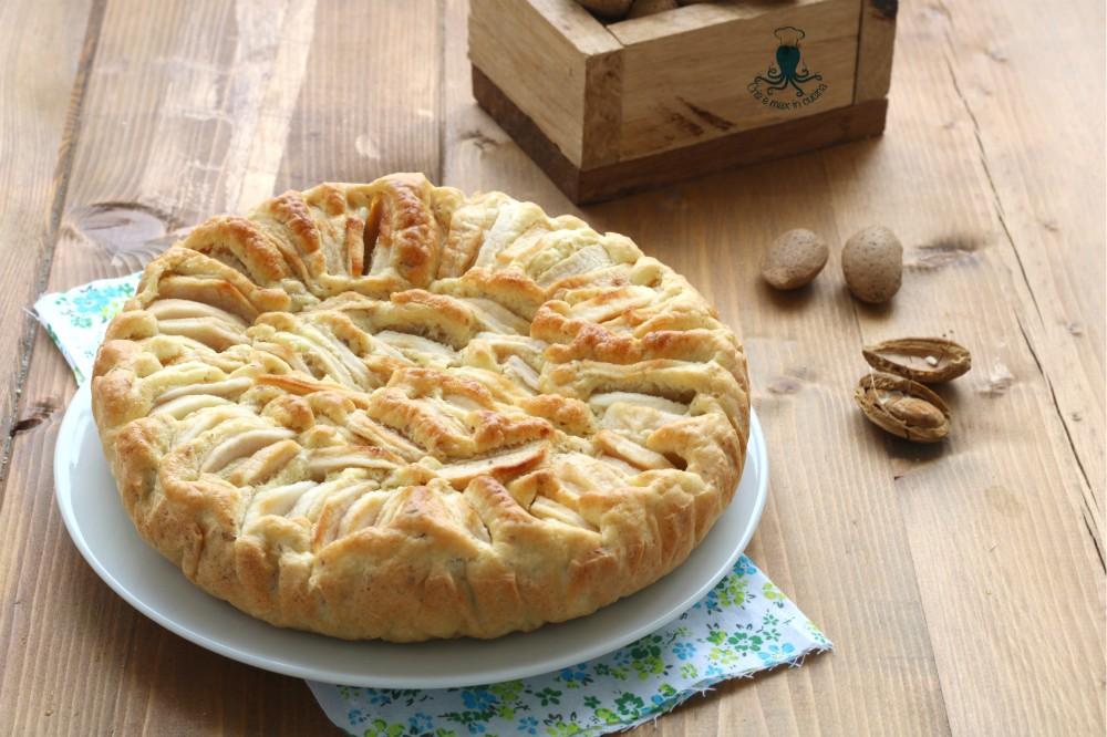 Torta Senza Zucchero di Mele e Mandorle, Ricetta Senza Burro e Olio