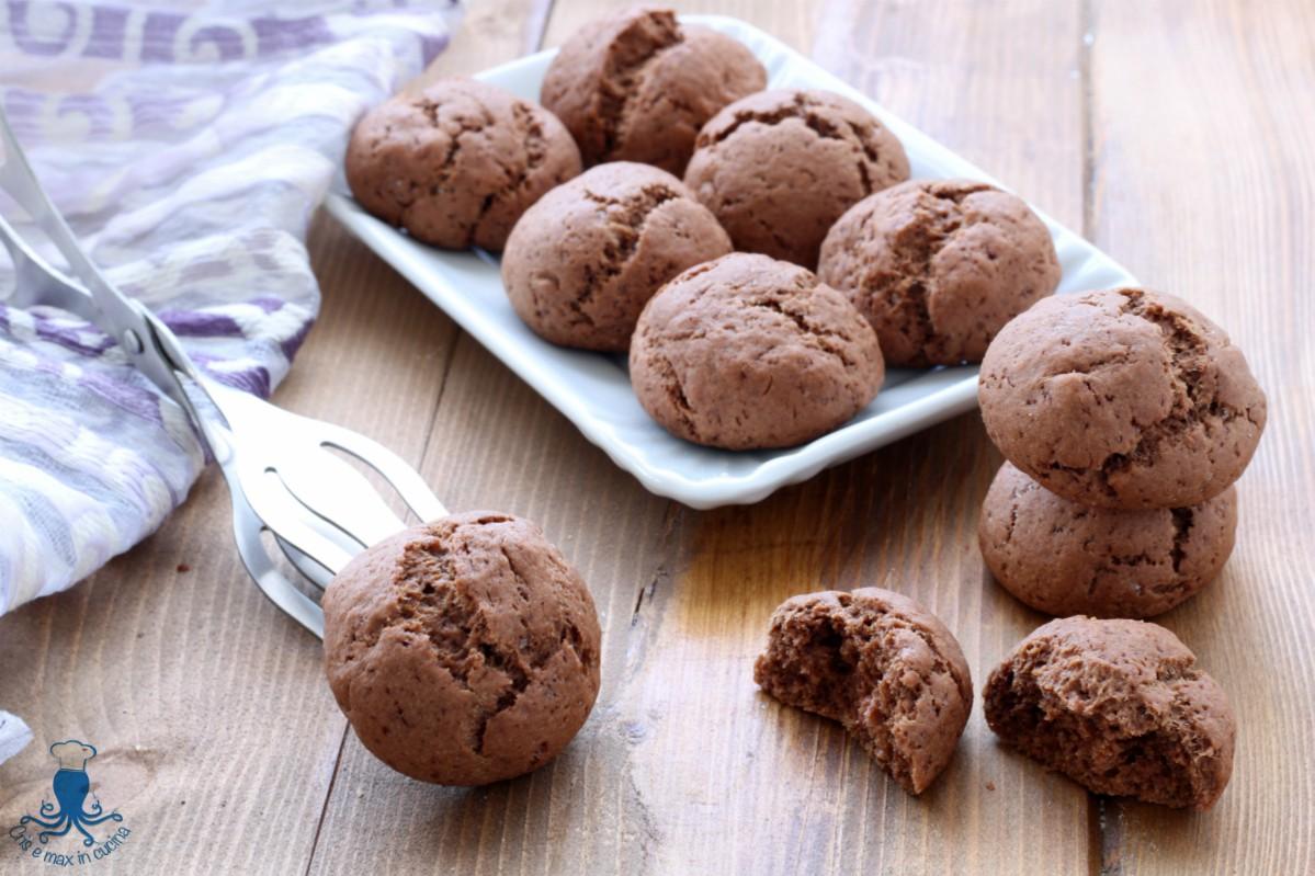 Biscotti Light al Cioccolato, Ricetta Senza Zucchero e Burro