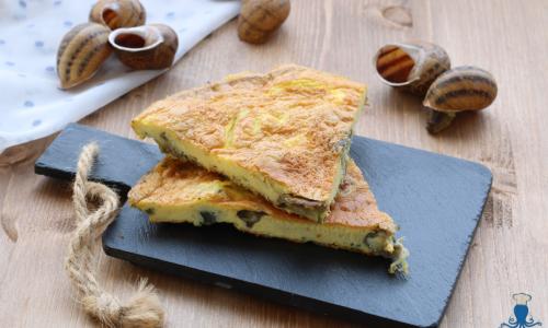 Frittata di lumache, ricetta secondo piatto regionale piemontese