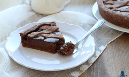Crostata al cioccolato, ricetta firmata da Ernest Knam
