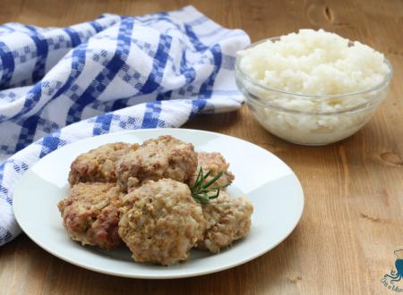 Polpette di carne e riso lesso, ricetta facile del riciclo