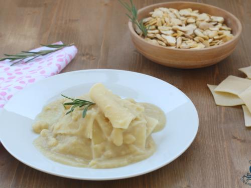 Pasta con crema di fave secche, ricetta tradizionale