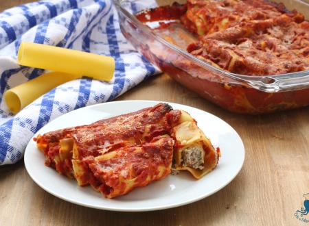 Cannelloni con ricotta e carne, ricetta facile per le feste