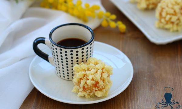 Bon bon mimosa, ricetta dolce per la Festa delle Donne