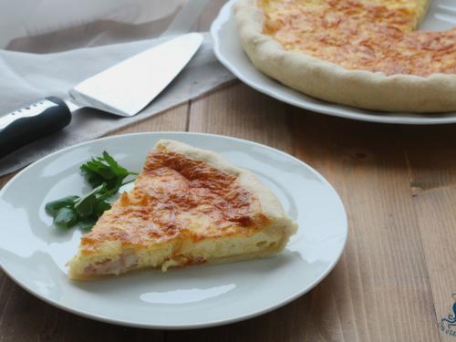 Quiche Lorraine francese, ricetta facile e saporita