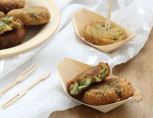 Polpette di zucchine e mozzarella, ricetta facile e veloce