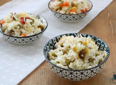 Insalata di riso classica, ricetta  facile e stuzzicante