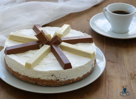 Cheesecake kit kat, ricetta golosa senza cottura e gelatina