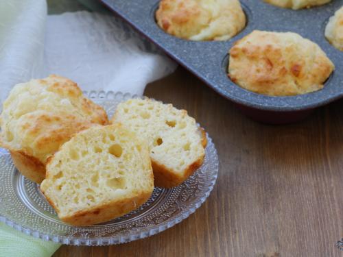 Muffin ai 4 formaggi, ricetta facile e sfiziosa con lievito istantaneo