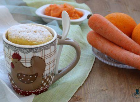 Mug cake ace, ricetta al microonde con scarti della centrifuga