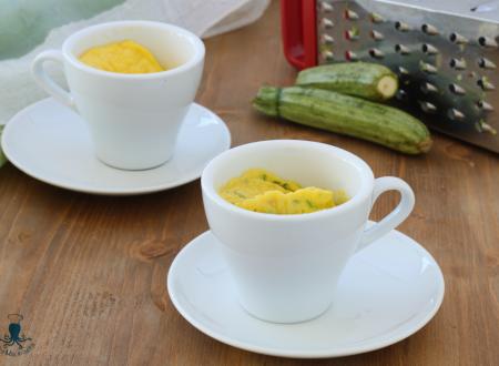 Frittata di zucchine in tazza, ricetta con il microonde
