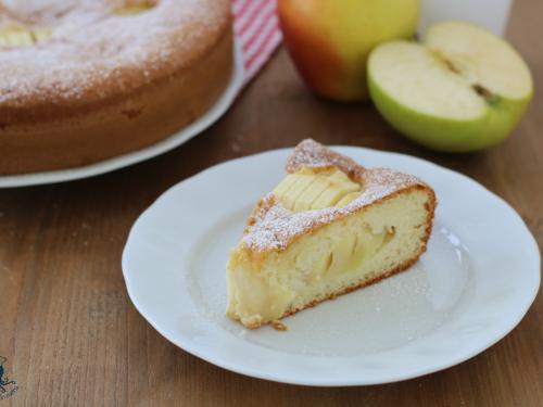 Torta 7 vasetti alle mele, ricetta con e senza Bimby