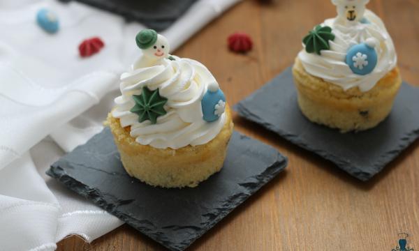 Cupcake natalizi, ricetta con e senza friggitrice ad aria