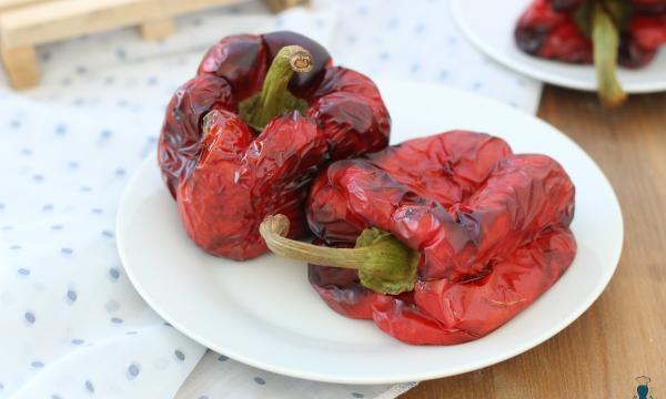 Peperoni arrostiti ricetta, con e senza friggitrice ad aria