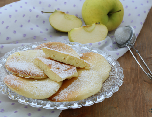 Pancake alle mele, una nuvola di sofficità, ricetta facile