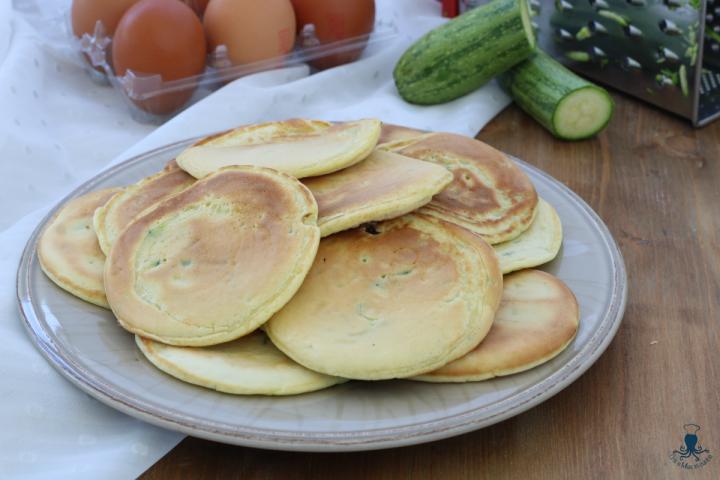 Pancake alle zucchine2