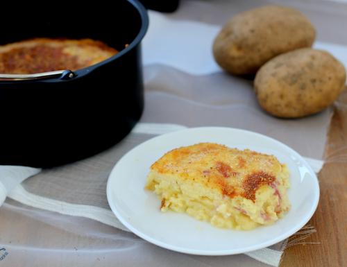Gateau di patate con friggitrice ad aria, ricetta saporita