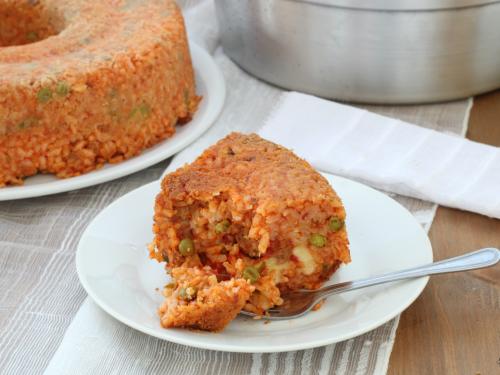 Timballo di riso, ricetta con e senza il fornetto Versilia.
