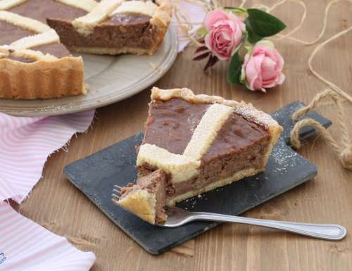 Pastiera al cioccolato, ricetta rivisitata con e senza Bimby