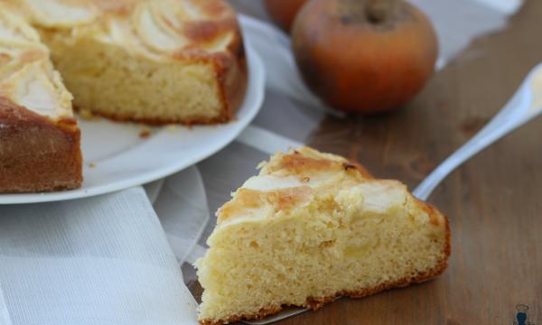 Torta di mele e yogurt, ricetta facile con e senza Bimby