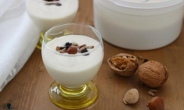 Yogurt alla soia, ricetta senza lattosio con e senza yogurtiera