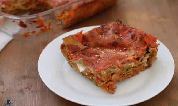 Lasagne verdi, ricetta tradizionale della cucina italiana.