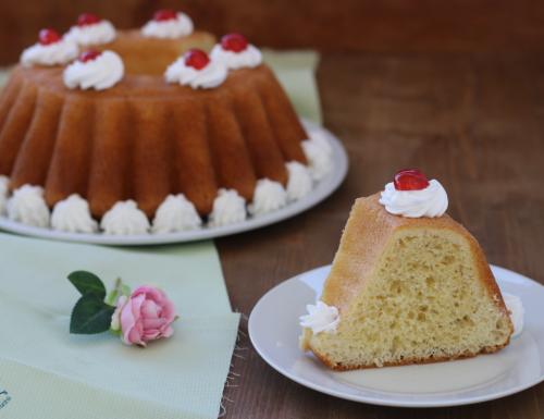 Torta babà, ricetta napoletana con e senza Bimby