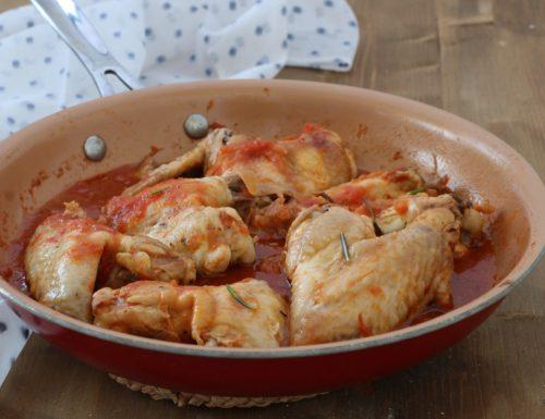 Ali di pollo saporite al pomodoro, ricetta secondo piatto