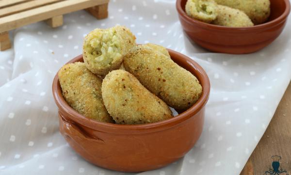 Crocchette di riso alle verdure, ricetta del riciclo fritta o al forno