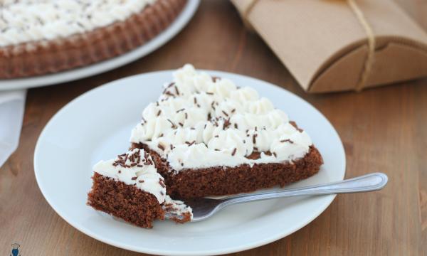 Crostata morbida cioccolato e ricotta, ricetta passo a passo.