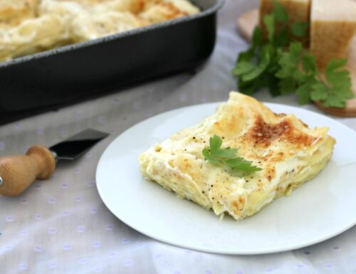 Lasagne alla ricotta, primo piatto  facile della festa