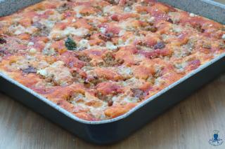 Pizza con la salsiccia1