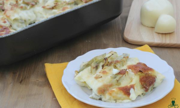Lasagne ai carciofi, ricetta gustosa di facile preparazione