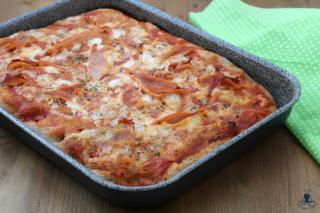 Pizza integrale con il prosciutto2