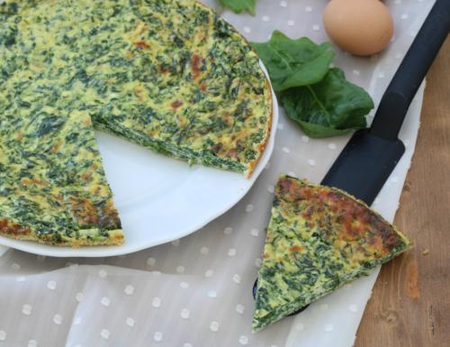 Frittata al forno ricotta e spinaci, ricetta sfiziosa leggera e saporita
