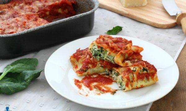 Lasagna roll, ricetta raffinata della festa con  ricotta e spinaci
