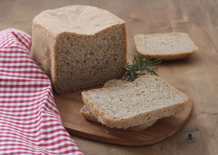 Pane integrale con la macchina del pane1